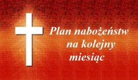 Plan nabożeństw Czerwiec 2021 r.